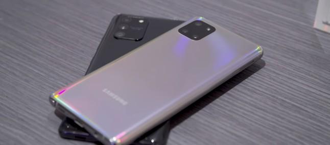Galaxy Note 20: celular com projetor está nos planos da Samsung