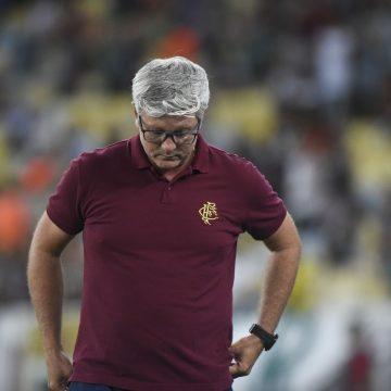 Odair admite 1º tempo ruim do Fluminense e explica por que não iniciou com Marcos Paulo e Evanilson