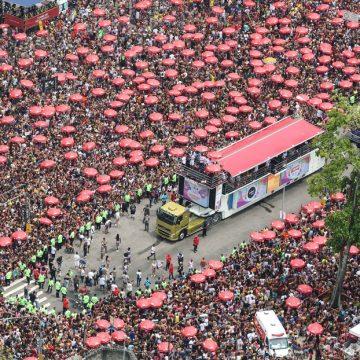 Blocos do Rio levam quase um milhão de foliões às ruas no último fim de semana do pré-carnaval