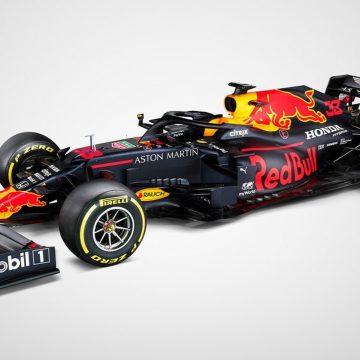 RBR divulga desenho do novo carro e capacetes de Albon e Verstappen para 2020