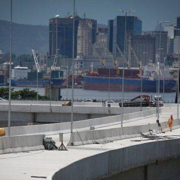 Alça que liga a Ponte Rio-Niterói à Linha Vermelha será aberta neste sábado