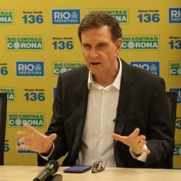 Prefeito Marcelo Crivella mantém medidas de isolamento social no Rio