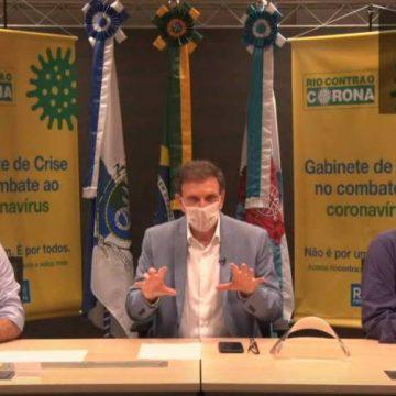 Prefeito Marcelo Crivella fará o teste para Covid-19