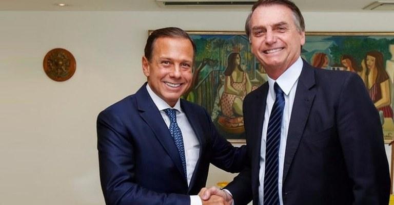 Dória diz que Bolsonaro 'não é exemplo pra ninguém'