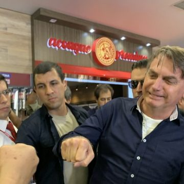 Coronavírus: para a AGU, Bolsonaro não desrespeitou ordem judicial e ele tem direito de ir e vir