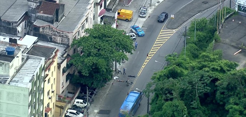 Acidente deixa três mortos na Tijuca, Zona Norte do Rio