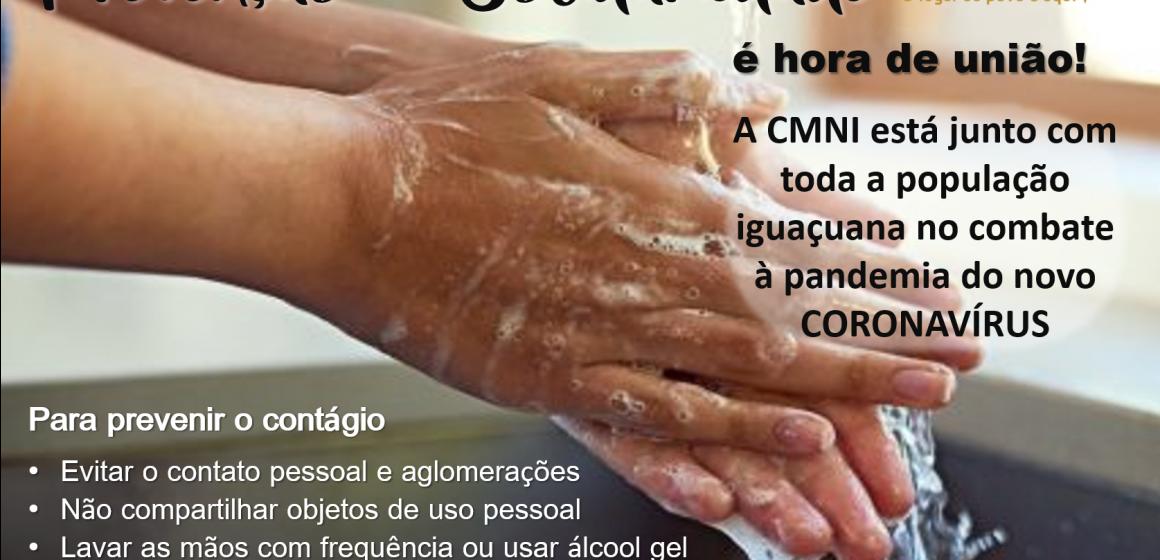 Câmara de Nova Iguaçu toma medidas para diminuir o número de casos do novo coronavírus