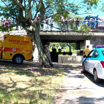 Casal de moradores de rua é morto enquanto dormia no Jardim de Alah, na Zona Sul do Rio