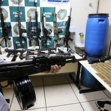 Polícia prende acusado de tráfico de drogas na Ilha do Governador