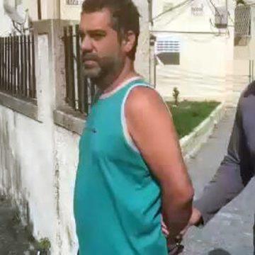 Homem é preso suspeito de agredir a namorada e de mantê-la em cárcere privado