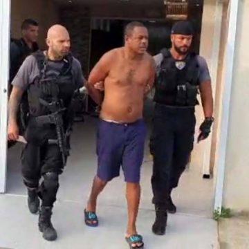 Homem apontado como chefe da milícia na comunidade da Carobinha, em Campo Grande, é preso
