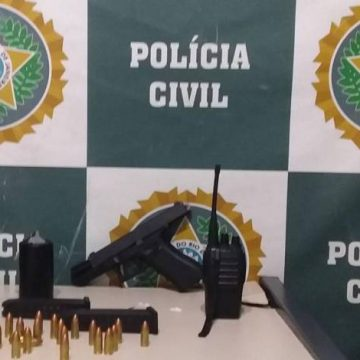 Polícia Civil prende em flagrante o chefe do tráfico na favela da Palmeirinha