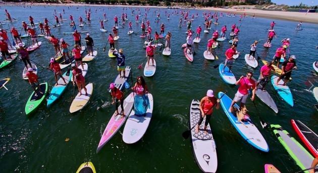 """Rio Ecoesport e Federação Estadual de Stand Up promovem evento """"Sup para Elas"""" em comemoração ao Dia Internacional da Mulher"""
