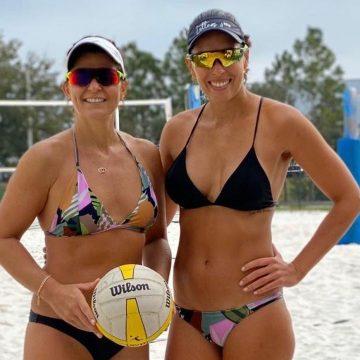 Larissa volta ao vôlei de praia formando dupla com a esposa Lili e Ricardo será o técnico