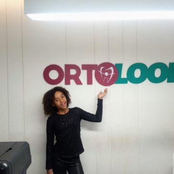 Rute Martins recebe cuidados da Ortolook