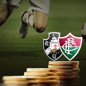 """Crise financeira x criatividade no mercado: Vasco, Fluminense e a realidade """"tão perto, tão longe"""""""