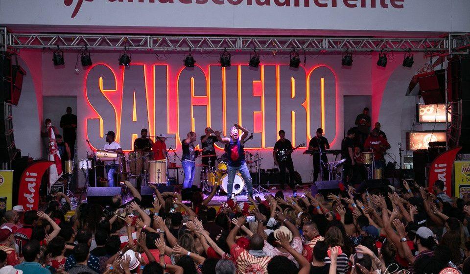 Feijoada do Salgueiro acontece neste domingo com shows do grupo Molejo e Família Retrô