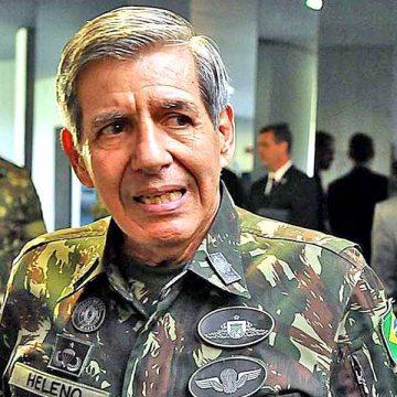 Ministro Augusto Heleno diz que seu exame deu positivo para coronavírus