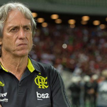 Jorge Jesus testa positivo para coronavírus; treinador do Flamengo fará contraprova