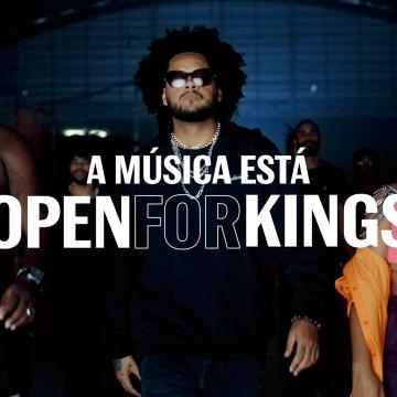 Open For Kings: Budweiser convida público a ser o rei de sua própria história para o Lollapalooza Brasil
