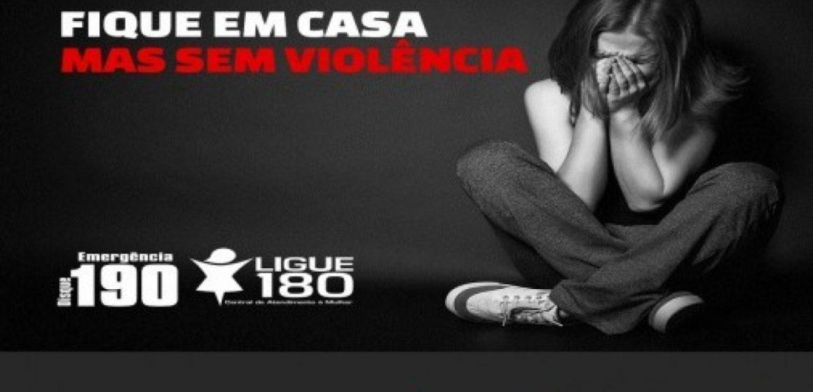 Casos de violência doméstica  e contra a mulher crescem em 50%  durante isolamento do Coronavírus
