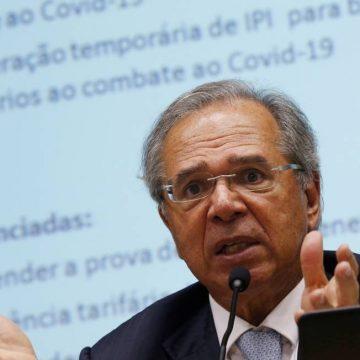 Guedes diz que medidas econômicas contra coronavírus já chegam a 2,6% do PIB