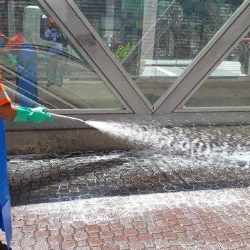 Rio começa nesta terça a desinfetar locais públicos contra o coronavírus