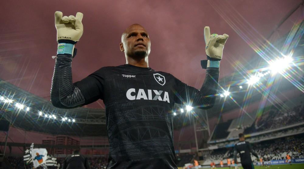 """Jefferson lembra defesa de pênalti no título carioca do Botafogo em 2010: """"Foi o meu gol"""""""