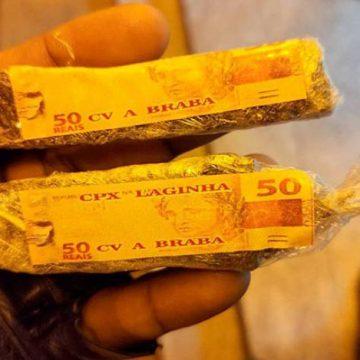 Homem vai em cana utilizando auxílio emergencial, concedido pelo governo, para comprar maconha em Itaipava