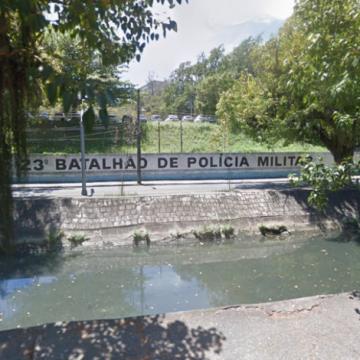 Hospital de campanha no batalhão da PM no Leblon ficará pronto até o fim do mês
