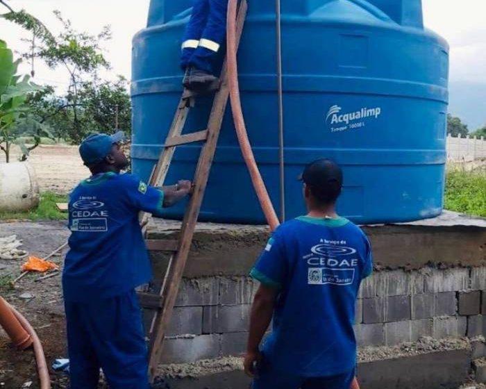 Cedae conclui manutenção e abastecimento de água normaliza em bairros da Zona Oeste