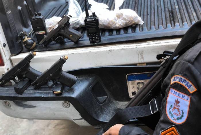 Operação policial na Zona Norte acaba com três suspeitos mortos