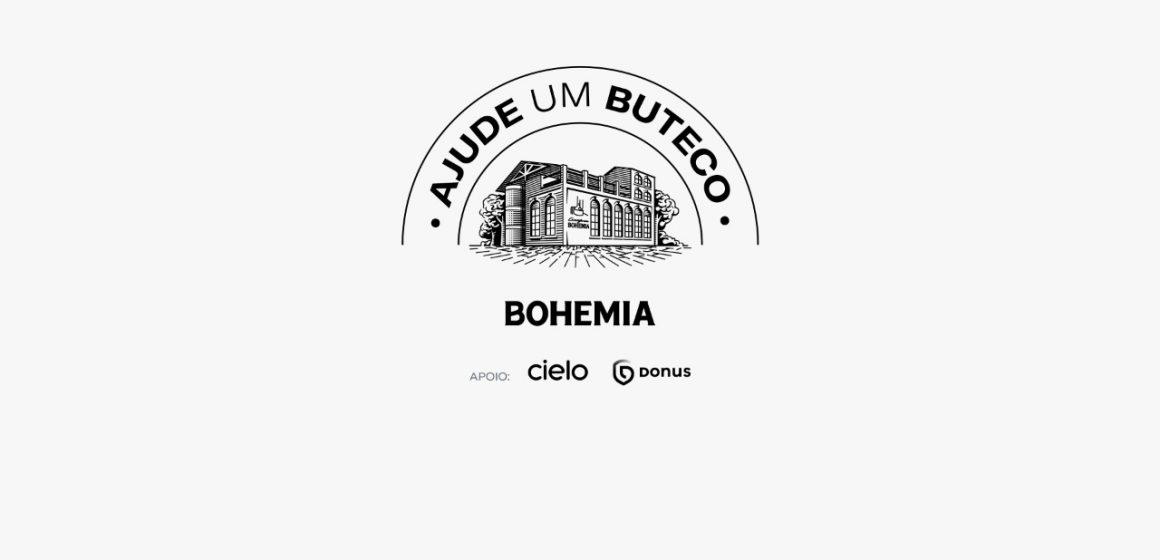 Ajude um Buteco: Cervejaria Bohemia cria plataforma para ajudar botecos de todo o Brasil a saírem da crise