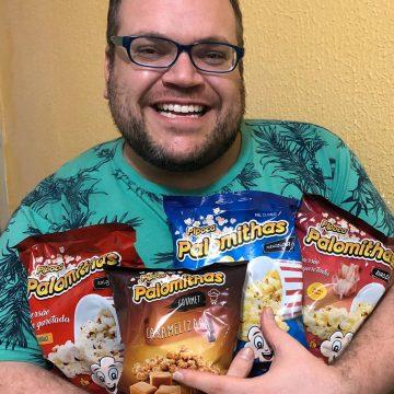 Jornalista Rodrigo Teixeira aproveita quarentena com muitas séries e pipocas Palomithas