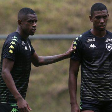 Botafogo tem a dupla de zaga mais jovem entre os 20 clubes do Campeonato Brasileiro