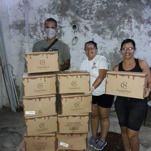 Rede de solidariedade entre instituições sociais na Baixada Fluminense garante a páscoa de famílias carentes da região