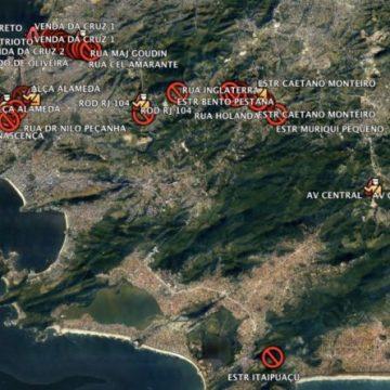 Niterói começa neste sábado a restringir acesso; veja mapas com os pontos de bloqueio