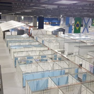 Crivella diz que 'Arca de Noé' estará pronta até a próxima semana com chegada de 300 respiradores da China