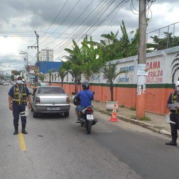 A prefeitura de Nilópolis realiza fiscalização da mobilidade urbana no combate ao coronavírus