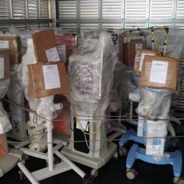 Coronavírus: respiradores do Rio de Janeiro chegam a BH para serem consertados