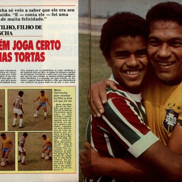 Você sabia? Filho de Garrincha jogou pelo Fluminense e conheceu o pai graças ao Tricolor