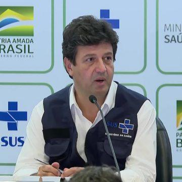 Mandetta diz a Bolsonaro saber que saída não é questão de 'se', mas de 'quando'