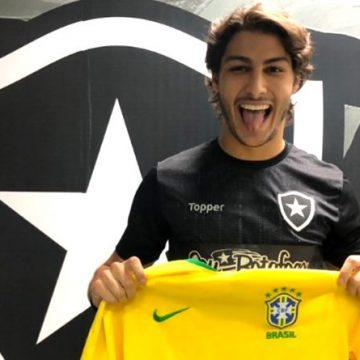 Marcinho, do Botafogo, coloca Copa do Mundo de 2022 como próxima meta