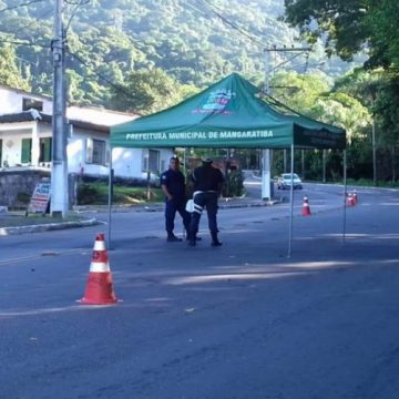 Prefeitura de Mangaratiba determina o bloqueio nas entradas da cidade
