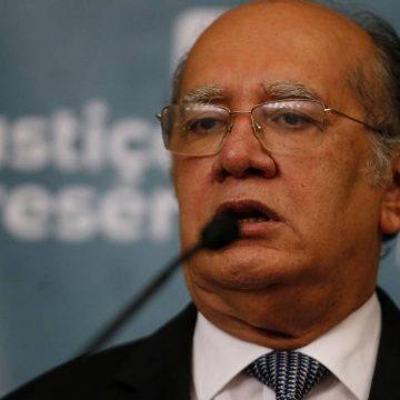 Gilmar defende quebra de sigilo de manifestantes que promoveram ato contra democracia em Brasília