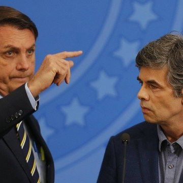 Bolsonaro pede que isolamento acabe esta semana, mas Nelson Teich e Paulo Guedes falam em fim progressivo e planejado