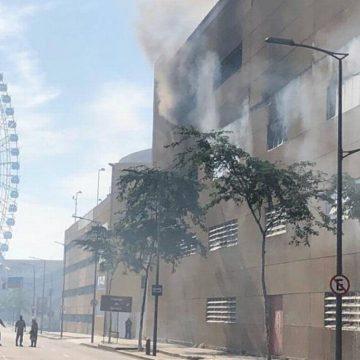 Incêndio atinge galpão da Viradouro, a campeã do carnaval, na Cidade do Samba