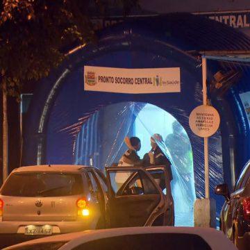 Eficácia de túnel de desinfecção contra coronavírus em pronto-socorro de São Gonçalo gera polêmica