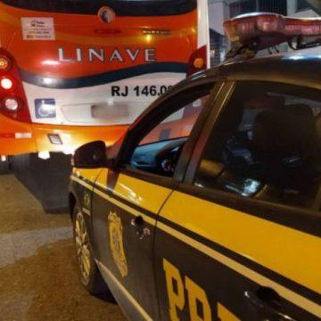 Homem suspeito de assaltar ônibus na Rodovia Presidente Dutra é preso pela Polícia Rodoviária Federal
