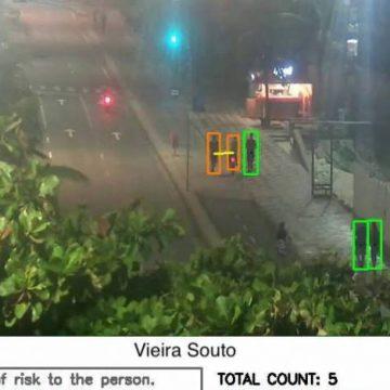 Sistema de câmeras da CET-Rio irá monitorar aglomerações e distanciamento